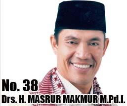 Drs. H. MASRUR MAKMUR M.Pd.I. Calon DPD 2014 Asal Provinsi Bali No Urut 38