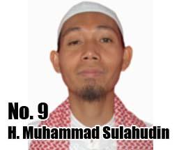 H. Muhammad Sulahudin Calon DPD 2014 Asal Provinsi Kepulauan Bangka Belitung No Urut 9