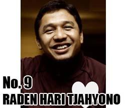 RADEN HARI TJAHYONO Calon DPD 2014 Asal Provinsi Kepulauan Riau No Urut 9