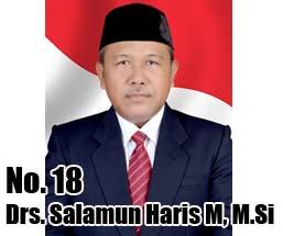 Drs. Salamun Haris M, M.Si Calon DPD 2014 Asal Provinsi Bengkulu No Urut 18